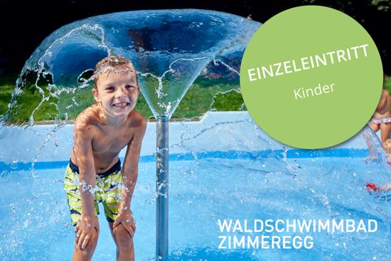 Bild von Einzeleintritt Kind Waldschwimmbad Zimmeregg