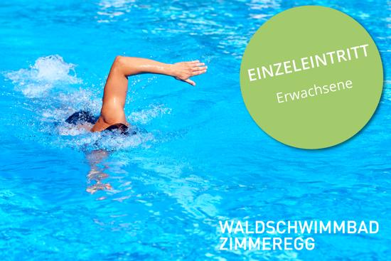 Picture of Einzeleintritt Erwachsen Waldschwimmbad Zimmeregg